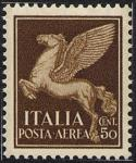 Posta aerea - Soggetti allegorici - 25 c.