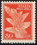 Posta aerea - Soggetti allegorici - 80 c.