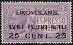 Posta Aerea - Espresso urgente soprastampato