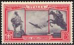 Posta aerea - 50° Anniversario della morte di Giuseppe Garibaldi - monumenti a Giuseppe ed Anita