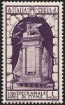 Posta aerea - Decennale dell'Annessione di Fiume - Monumento ai Caduti fiumani