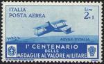 Posta Aerea - Centenario della istituzione delle Medaglie al Valor Militare - Aviazione in Libia,  «aquile d'Italia»