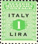Governo alleato  per la Sicilia - 1 Lira.