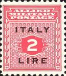 Governo alleato  per la Sicilia - 2 Lire.