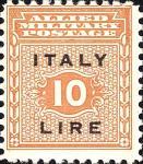 Governo alleato  per la Sicilia - 10 Lire.