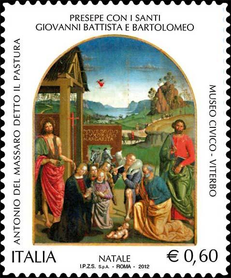 Francobolli Italiani: Calendario Dell'avvento