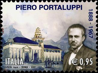 Patrimonio artistico e culturale italiano   :   Cinquantenario della morte di Piero Portaluppi - Architetto