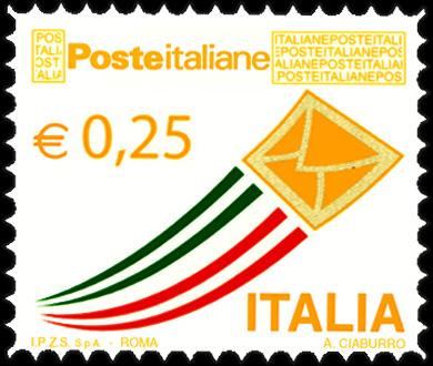 Posta Italiana - euro 0,25