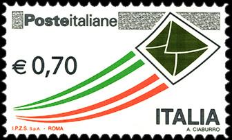 Posta Italiana - euro 0,70