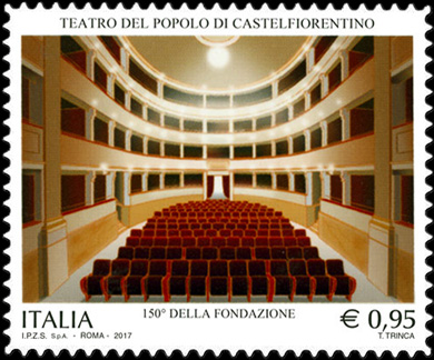 Patrimonio artistico e culturale italiano : Teatro del Popolo di Castelfiorentino - 150° della fondazione