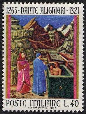 7° Centenario della nascita di Dante Alighieri - Inferno canto X