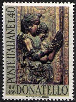 5° centenario della morte di Donatello - particolare altare Basilica S. Antonio a Padova
