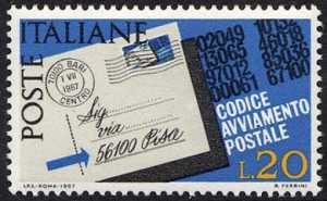 Codice di avviamento postale - L. 20