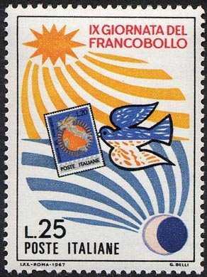 IX Giornata del Francobollo - L. 25