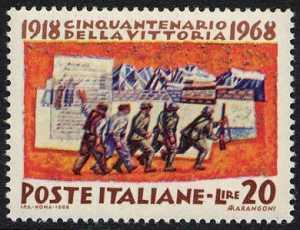 Cinquantenario della Vittoria del 1918 - la mobilitazione