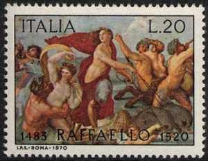 450° Anniversario della morte di Raffaello Sanzio - 'Trionfo di Galatea'
