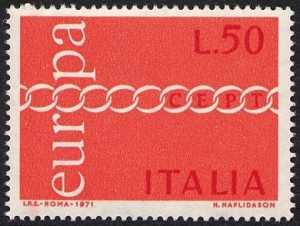 Europa - 16ª serie - L. 50