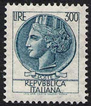 'Italia Turrita' - L. 300