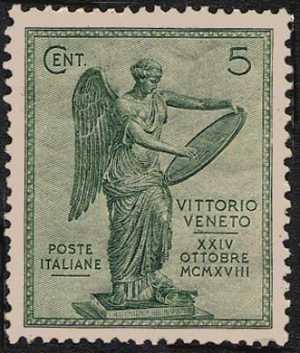 1921 - 3° Anniversario della Vittoria - La Vittoria di Brescia