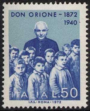 Centenario dlla nascita di Don Luigi Orione - L. 50