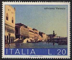 ' Salviamo Venezia ' - ? Riva degli Schiavoni '