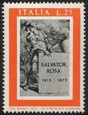 3° Centenario della morte di Salvator Rosa - acquaforte