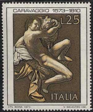4° Centenario della nascita di Michelangelo Merisi detto ' il Caravaggio ' - 'San Giovanni Battista'