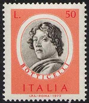 Uomini illustri - 1ª serie - Botticelli