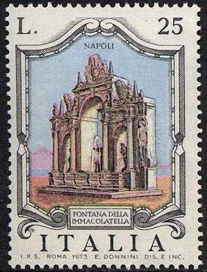 Fontane d'Italia - Immacolatella , Napoli