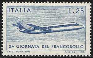 XV Giornata del Francobollo - L. 25