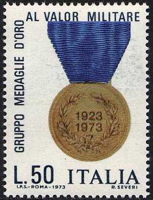 Cinquantenario dell'Associazione Gruppo Medaglie d'Oro al Valor Militare - L. 50