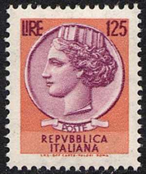 ' Italia Turrita ' - L. 125