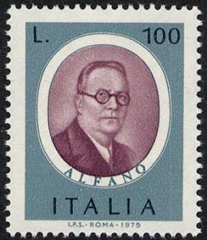 Uomini Illustri - F. Alfano