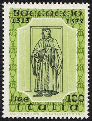 6° Centenario della morte di Giovanni Boccaccio - affresco di Andrea del Castagno