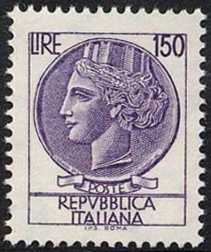 'Italia Turrita' - L. 150