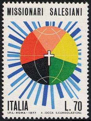 Missionari Salesiani - globo e croce