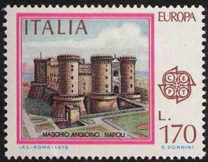 Europa - Monumenti - Maschio Angioino - Napoli