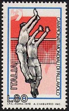 Campionati mondiali maschili di pallavolo - il ' muro '