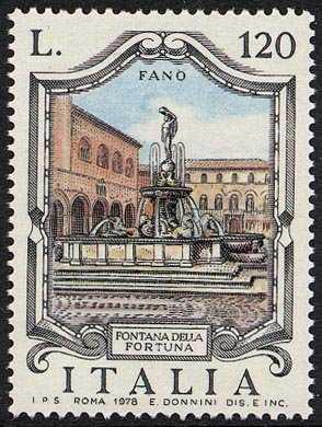 Fontane d'Italia - 'della Fortuna' a Fano