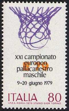 Campionati europei di pallacanestro - L. 80
