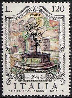 Fontane d'Italia - 'Melograno' , Issogne