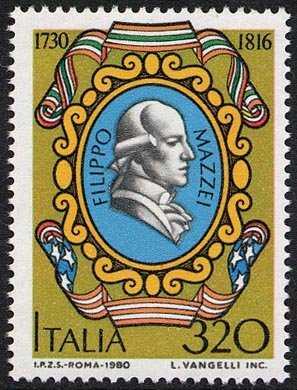 250° Anniversario della nascita di Filippo Mazzei - L. 320