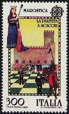 Europa - Folklore - La partita a scacchi - Marostica