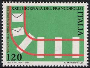 XXIII Giornata del Francobollo - L. 120