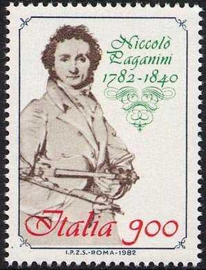 Bicentenario della nascita di Niccolò Paganini - disegno di J.A. Ingres