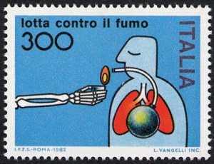 Lotta contro il fumo - L. 300