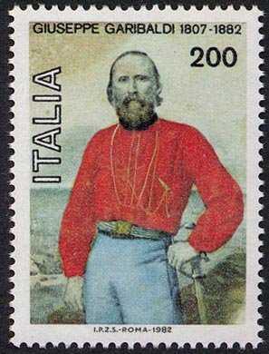 Centenario della morte di Giuseppe Garibaldi - ritratto