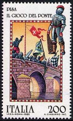 Folklore - 'Il Gioco del Ponte' - Pisa