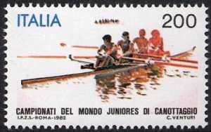 Campionati mondiali juniores di canottaggio - L. 200