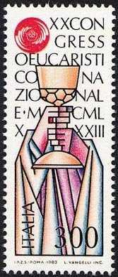 XX Congresso Eucaristico Nazionale - emblema